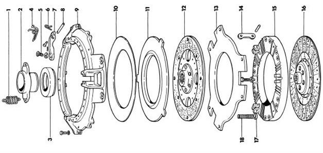 wiring diagrams   massey ferguson 135 parts diagram