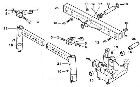 Massey Ferguson 240 Front Axle Parts. Massey Ferguson Straight Axle Beam Detail. Ford. Ford 5000 Parts Diagram Front Axel At Scoala.co